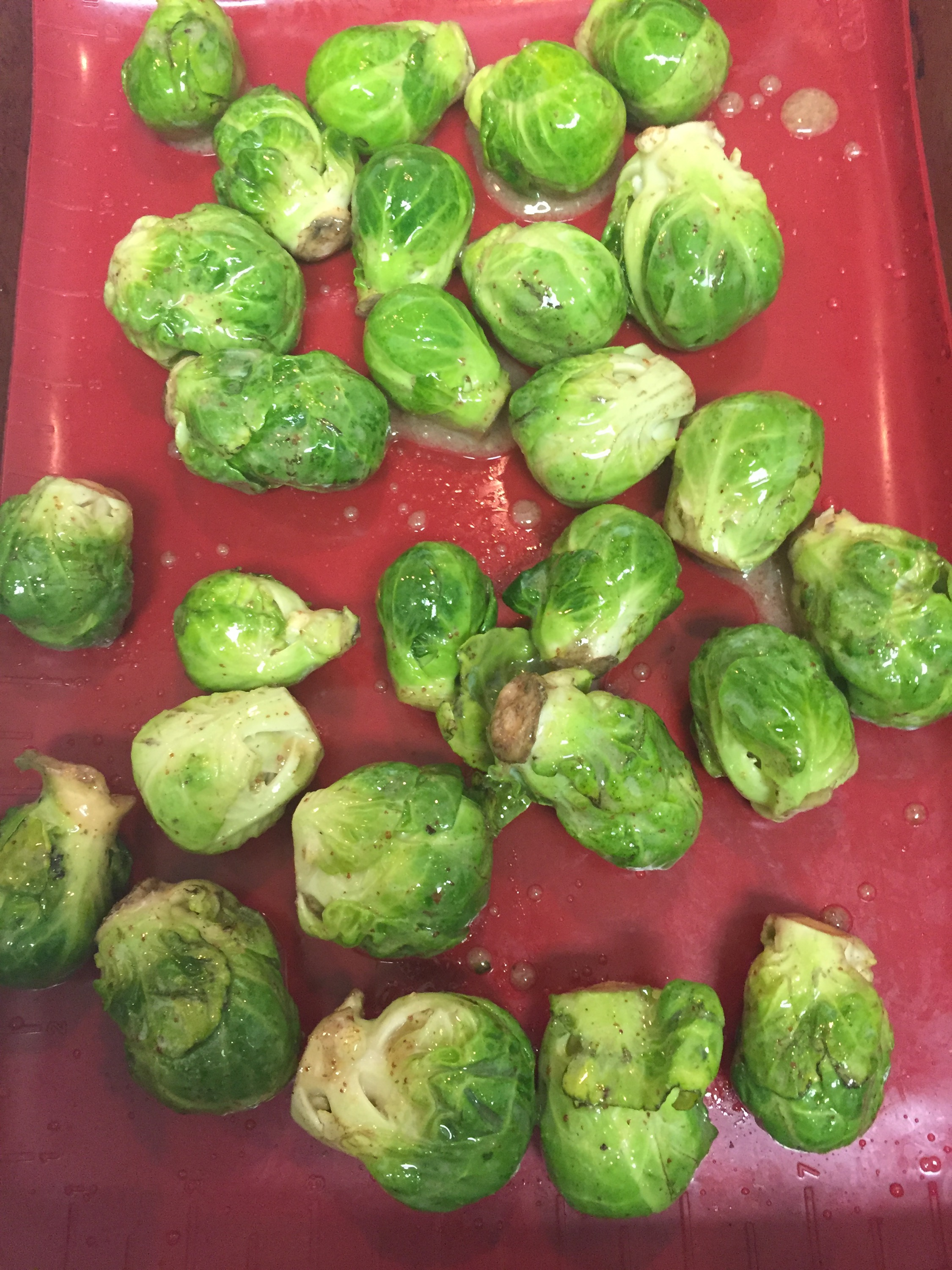 1 pound brussel sprouts