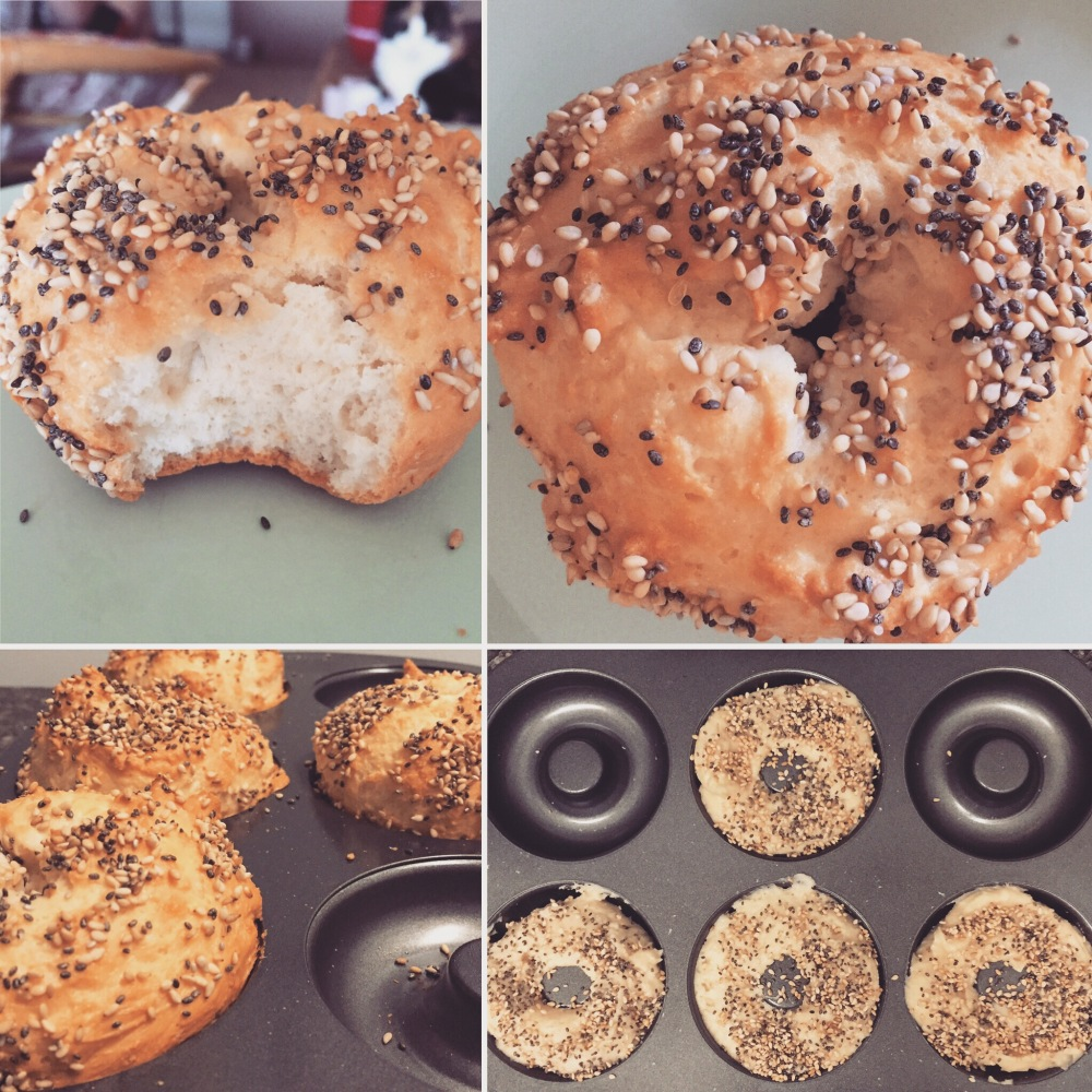 Protein Bagels